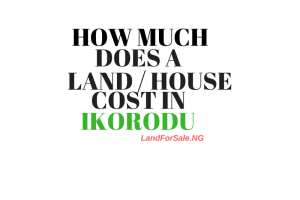how much land house ikorodu lagos