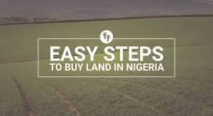 process of buying land nigeria