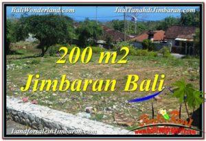 Affordable PROPERTY 200 m2 LAND IN JIMBARAN BALI FOR SALE TJJI104