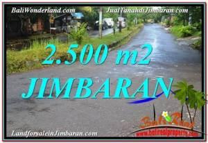 Magnificent PROPERTY Jimbaran Ungasan BALI 2,500 m2 LAND FOR SALE TJJI118