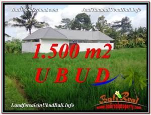 FOR SALE Magnificent LAND IN Sentral Ubud BALI TJUB600