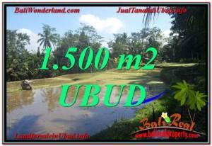 Beautiful PROPERTY 1,500 m2 LAND FOR SALE IN Ubud Payangan TJUB630