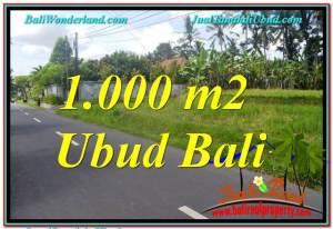 Affordable UBUD BALI 1,000 m2 LAND FOR SALE TJUB649