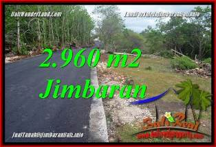 Affordable PROPERTY 2,960 m2 LAND SALE IN JIMBARAN UNGASAN BALI TJJI133A