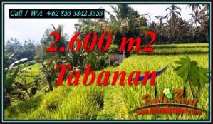 Exotic PROPERTY PENEBEL TABANAN LAND FOR SALE TJTB499B