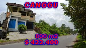 Magnificent Property for sale in Bali, land for sale in Canggu Bali  – 800 sqm @ $ 528