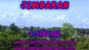 Magnificent 1,100 m2 LAND IN Jimbaran Ungasan BALI FOR SALE TJJI067