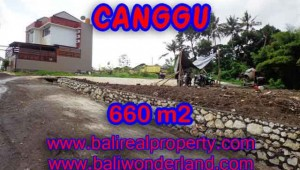 Excellent Property for sale in Bali, land for sale in Canggu Bali  – TJCG149