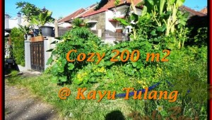 Affordable PROPERTY LAND SALE IN Canggu Kayutulang  TJCG173