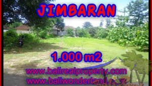 1,000 m2 LAND SALE IN Jimbaran four seasons TJJI063