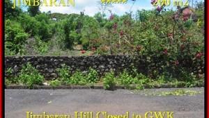 Affordable PROPERTY Jimbaran Ungasan BALI 200 m2 LAND FOR SALE TJJI086