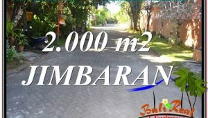 Affordable PROPERTY 2,000 m2 LAND IN JIMBARAN FOR SALE TJJI115