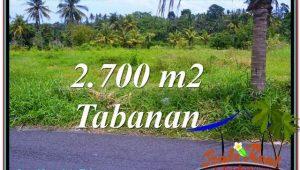 FOR SALE Beautiful LAND IN Tabanan Kerambitan BALI TJTB301