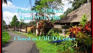 5,100 m2 LAND FOR SALE IN UBUD TJUB468