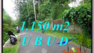 Magnificent 1,150 m2 LAND FOR SALE IN UBUD BALI TJUB576