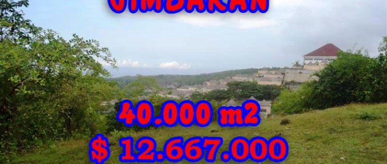 Land for sale in Bali, astonishing view in Jimbaran Ungasan Bali – TJJI030