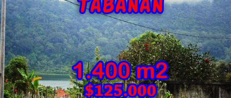 Stunning Land for sale in Bali, Lake view in Tabanan Bali – TJTB062