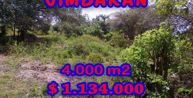 Land for sale in Bali, fabulous view in Jimbaran Sawangan – TJJI039