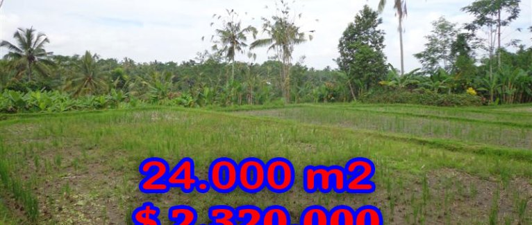 Land for sale in Bali, magnificent view Ubud Bali – TJUB262