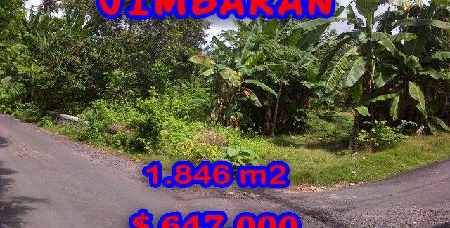 Fantastic Property for sale in Bali, land for sale in Jimbaran Bali  – 1.846 sqm @ $ 350