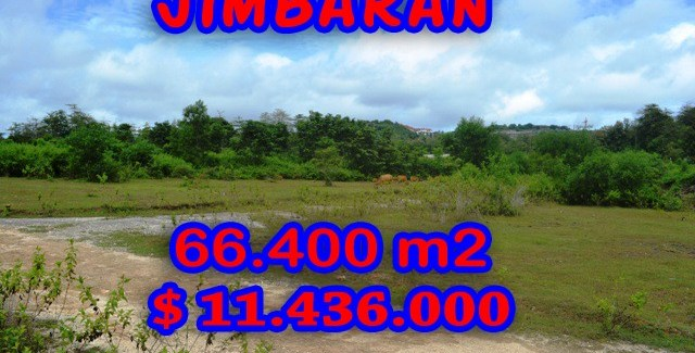 Land in Bali for sale, Spectacular view in Jimbaran Bali – TJJI033