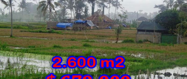 Land for sale in Bali, magnificent view in Ubud Center – TJUB281