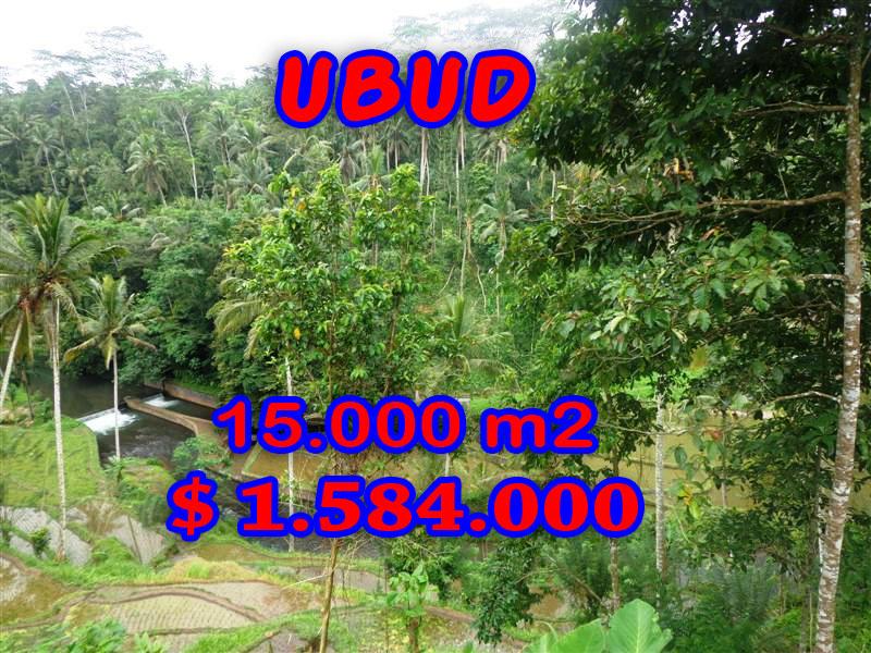 Bali land for sale, Fantastic view in Ubud Tampak Siring – TJUB273