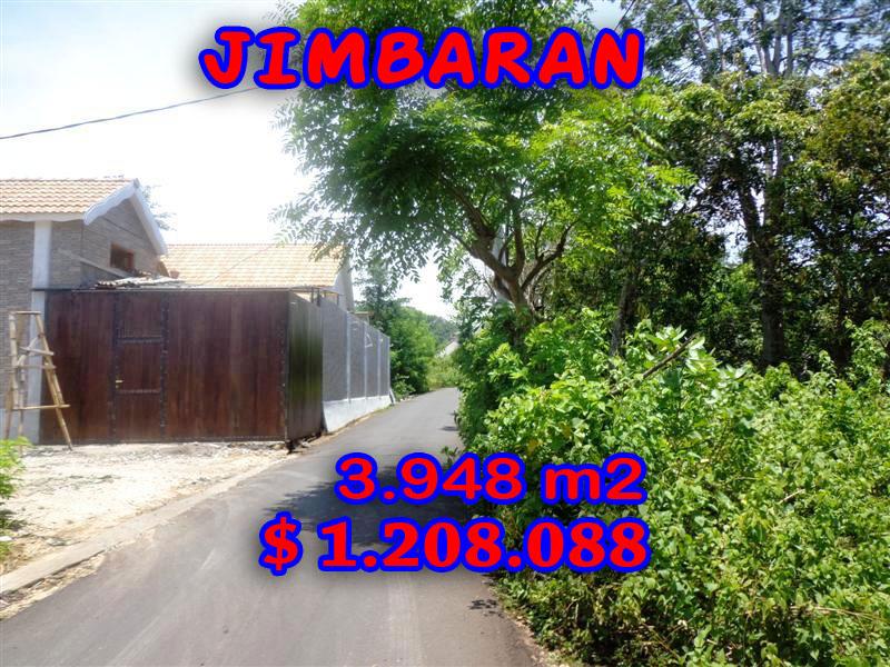 Stunning Property for sale in Bali, land for sale in Jimbaran Bali  – 3.948 sqm @ $ 306