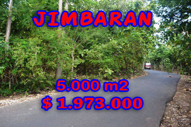 Spectacular Property for sale in Bali, land for sale in Jimbaran Bali  – 5.000 m2 @ $ 394
