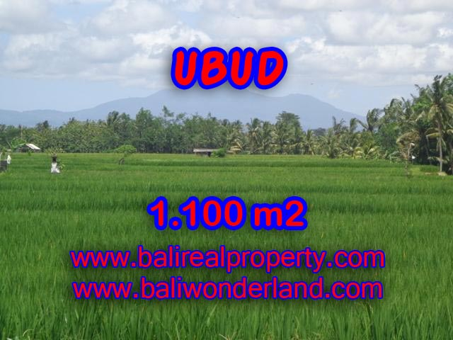 Land in Bali for sale, extraordinary view in Central Ubud – TJUB354