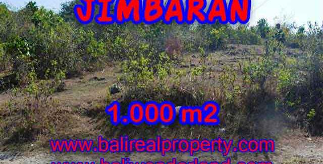 Land for sale in Bali, Fantastic view in Jimbaran Ungasan – TJJI074