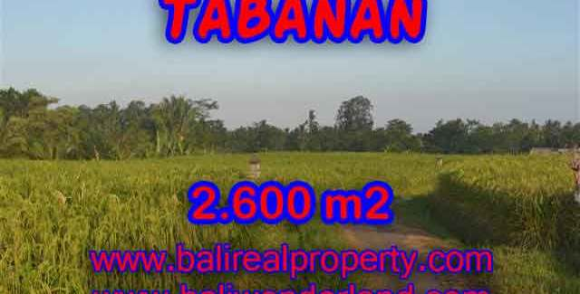 Outstanding Property in Bali for sale, land in Tabanan for sale – TJTB129