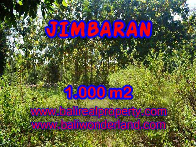 Land in Bali for sale, extraordinary view in Jimbaran Ungasan – TJJI071
