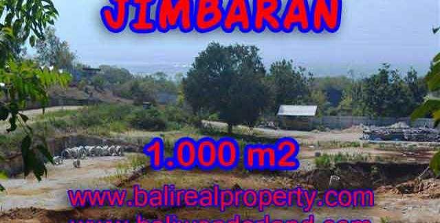 Fantastic Land for sale in Bali, villa and residential environment in Jimbaran Ungasan– TJJI073