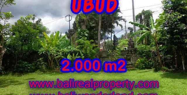 Land in Bali for sale, astounding view in Ubud Bali – TJUB367