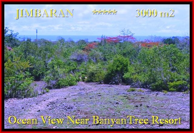 Jimbaran Ungasan 3.000 m2 LAND FOR SALE TJJI090