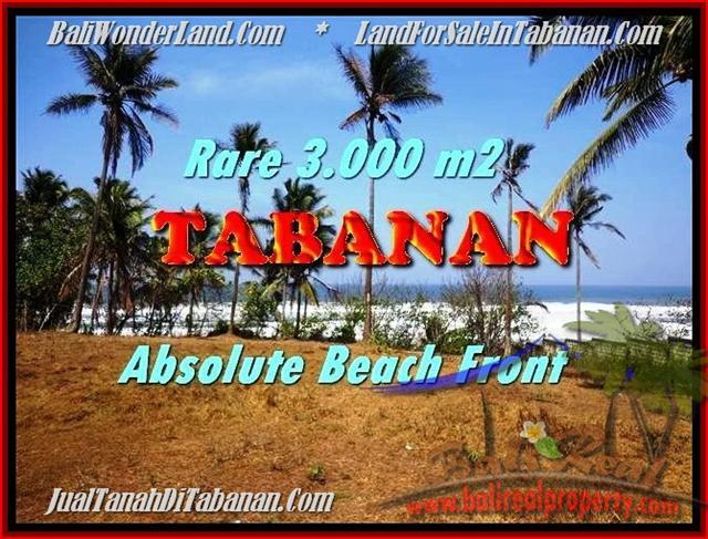 Magnificent 3.000 m2 LAND FOR SALE IN TABANAN BALI TJTB168