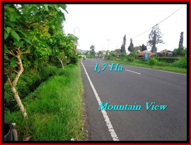 Magnificent LAND SALE IN Tabanan Bedugul BALI TJTB191