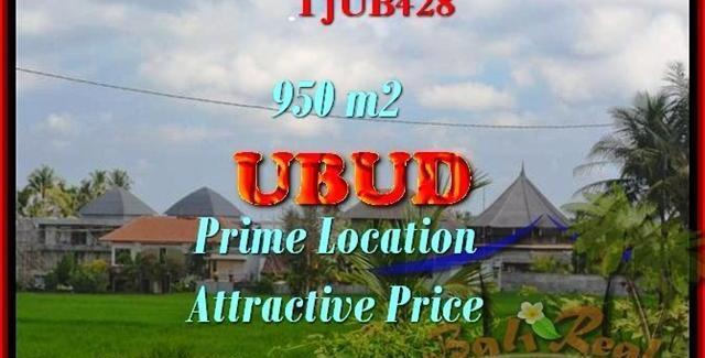 Beautiful Sentral Ubud BALI LAND FOR SALE TJUB428
