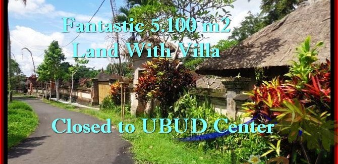 Exotic UBUD 5,100 m2 LAND FOR SALE TJUB468