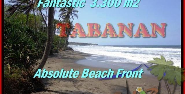 LAND IN Tabanan Selemadeg BALI FOR SALE TJTB158