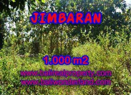 Beautiful 1,000 m2 LAND FOR SALE IN JIMBARAN TJJI071
