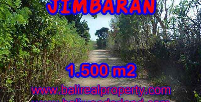 Magnificent PROPERTY 1,500 m2 LAND SALE IN JIMBARAN TJJI075