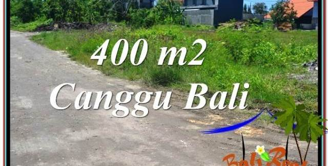 Beautiful 400 m2 LAND IN Canggu Brawa BALI FOR SALE TJCG202