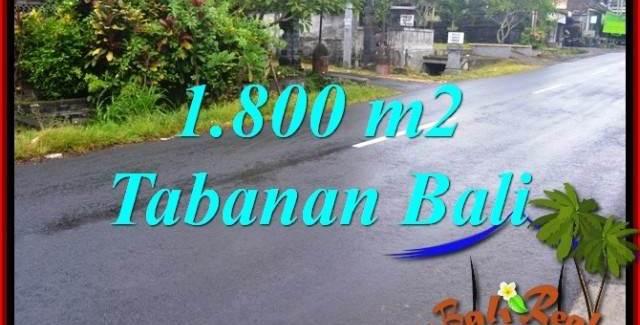 Beautiful 1,800 m2 LAND SALE IN TABANAN BALI TJTB321
