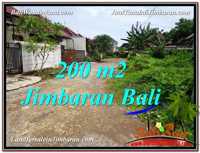 FOR SALE Beautiful PROPERTY 200 m2 LAND IN Jimbaran Ungasan BALI TJJI106