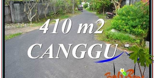 Affordable 410 m2 LAND SALE IN Canggu Pererenan TJCG216
