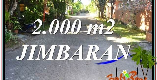 Exotic Jimbaran Uluwatu 2,000 m2 LAND FOR SALE TJJI115