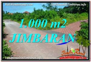 FOR SALE Magnificent 1,000 m2 LAND IN JIMBARAN TJJI111