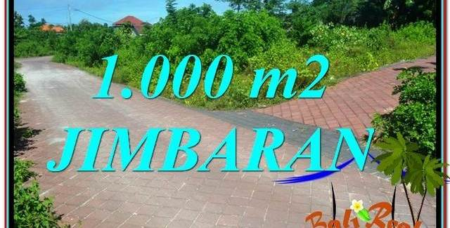 JIMBARAN 1,000 m2 LAND FOR SALE TJJI111